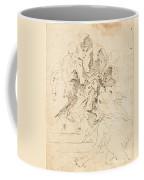 Classical Figures Gathered Around An Urn Coffee Mug