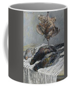 Claude Monet 1840 - 1926 Pheasant, Woodcock And Partridge Coffee Mug