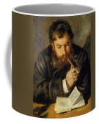 Claude Monet The Reader 1874 Coffee Mug