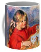 Claude Renoir At Play Sun 1905 Coffee Mug