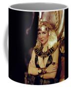 Claudette Colbert In Cleopatra 1934 Coffee Mug