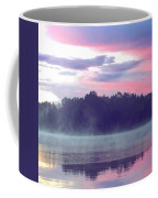 Clay Lake Sunrise Coffee Mug