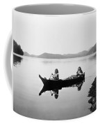 Clayoquot Canoe, C1910 Coffee Mug by Granger