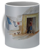 Cleaning Day In Agladones Coffee Mug