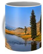 Clear Skies Over Slough Creek Coffee Mug