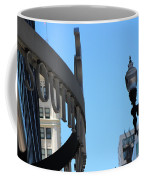 Clear Street Lamp Downtown Chicago Coffee Mug