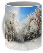 Clearing Skies Christmas Card Coffee Mug