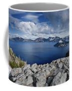 Clearing Storm At Crater Lake Coffee Mug