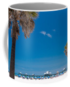 Clearwater Beach Coffee Mug by Adam Romanowicz