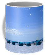 Clearwater Beach Florida Shelters Coffee Mug
