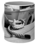 Cleat Hitch Boat Art Coffee Mug