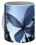 Clematis At Dusk Coffee Mug