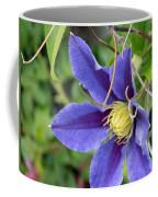 Clematis Blossom Coffee Mug