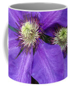 Clematis Detail Coffee Mug