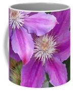 Clematis Flowers Coffee Mug