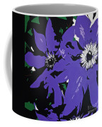 Clematis Jackmanii Coffee Mug