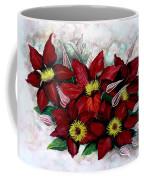 Clematis Niobe Coffee Mug