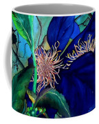 Clematis Regal In Purple And Blue Sold Coffee Mug