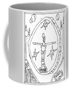 Cleo Over Valley In Paradise Coffee Mug