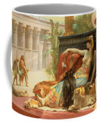 Cleopatra Testing Poisons On Those Condemned To Death Coffee Mug by Alexandre Cabanel