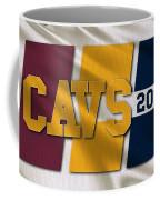 Cleveland Cavaliers Flag Coffee Mug