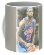 Cleveland Cavaliers Lebron James 1 Coffee Mug