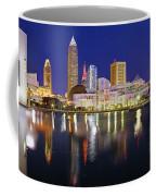 Cleveland Skyline At Dusk Coffee Mug
