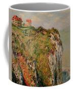 Cliff At Dieppe Coffee Mug