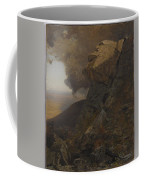 Cliff In The Katskills Coffee Mug