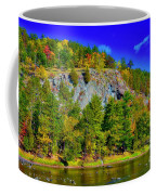 Cliff Of Color Coffee Mug