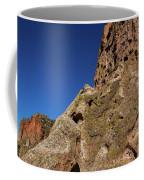 Cliffs At Bandelier Coffee Mug