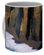 Cliffs At Blacklock Point Coffee Mug