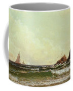 Cliffs At Cape Elizabeth Coffee Mug