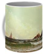 Cliffs At Cape Elizabeth Coffee Mug