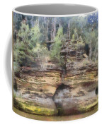 Cliffs At The Dells Coffee Mug