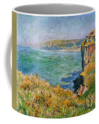 Cliffs Near Pourville Coffee Mug
