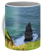 Cliff's Of Moher Needle Rock Formation In Ireland Coffee Mug