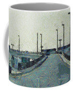 Climbing A Ramp On The Highway Coffee Mug