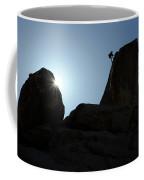 Climbing In Joshua Tree Coffee Mug
