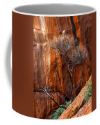 Clinging To Life Coffee Mug by Mike  Dawson
