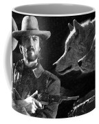 Clint Eastwood With Wolves Coffee Mug
