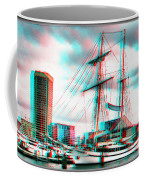 Clipper City - Use Red-cyan 3d Glasses Coffee Mug