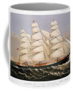 Clipper Ship, 1875 Coffee Mug