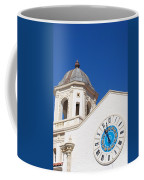 Clock And Tower Coffee Mug