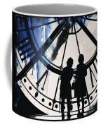 Clock Watching Coffee Mug