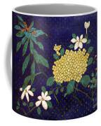 Cloisonee' Flower Coffee Mug