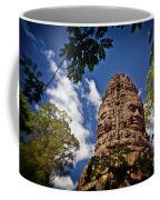 Cloning Out Tourists At Ta Prohm Temple, Angkor Archaeological Park, Siem Reap Province, Cambodia Coffee Mug