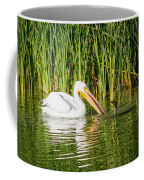 Close Call For The Cormorant Coffee Mug