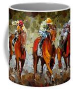 Close Race Coffee Mug