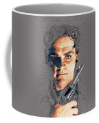 Close Up James Cagney As Gangster  Rocky Sullivan In Angels With Dirty Faces 1938-2008 Coffee Mug